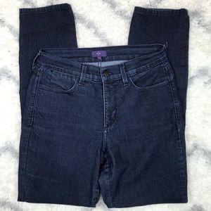 NYDJ straight leg jeans dark wash